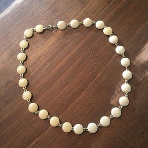 Jewelry - Vintage Gold and Enamel Choker Necklace